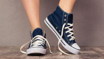 Offene Schuhe Compressed