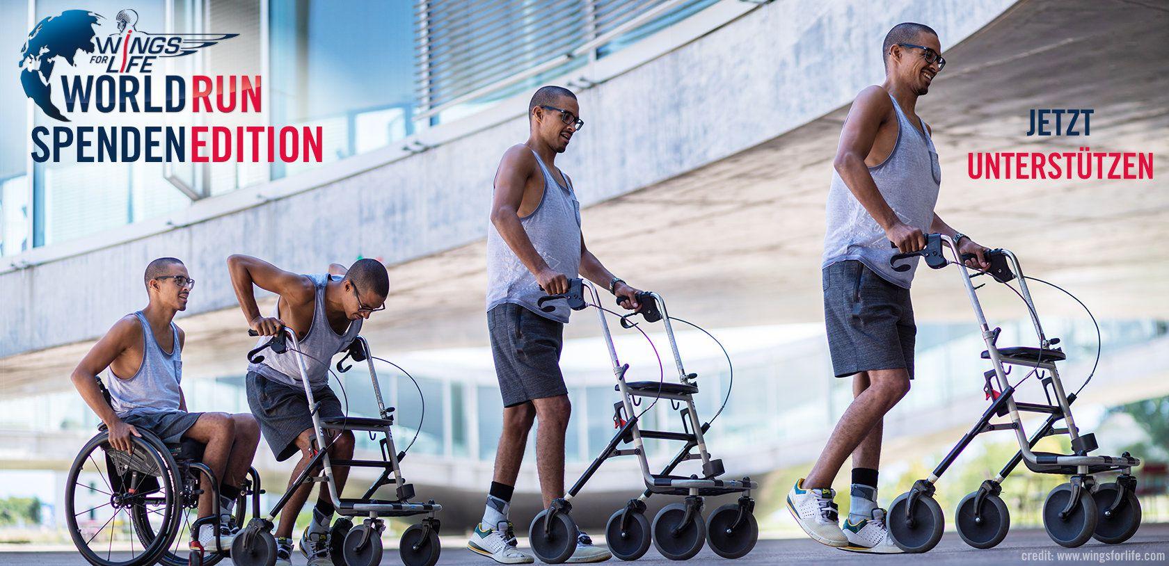 Rollstuhl kann wieder gehen compressed